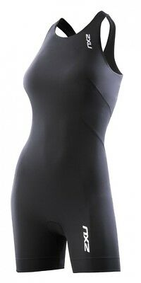 (Medium, Black) - 2XU Women's Fusion Trisuit. Free Delivery