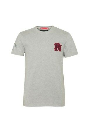 (Large, Z75 Heather) - Front Up Rugby Men's Pain is Temporary T-Shirt. Brand New