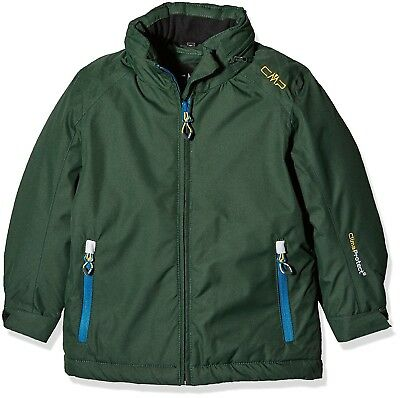 (110, Leaf) - CMP Boys' Functional Jacket. Shipping Included