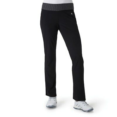 (Medium, Black) - adidas Golf Women's Range wear Pants. Free Delivery