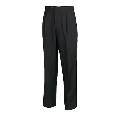 (110cm , Black) - Smitty Basketball Pleated Referee Pants. Huge Saving