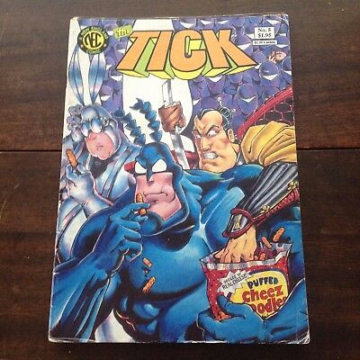 The Tick number 5, first printing - Ben Edlund - New England Comics