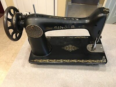 Vintage 1928 Singer Treadle Sewing Machine