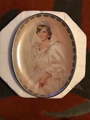 Princess Diana Plate Bradford Exchange First Issue Collector Queen Of Our Hearts