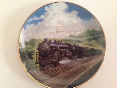 """The Capitol Limited"" GREAT AMERICAN TRAINS by Jim Deneen Plate"