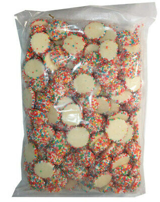 Speckles White Chocolate Rainbow Freckles Jewel 1kg