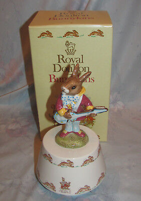 Vintage Royal Doulton Bunnykins Hey Jude Music Box with Box