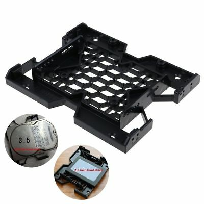 """5.25"""" to 3.5"""" 2.5"""" SSD Hard Drive Adapter Bay Tray Cooling Fan Mounting Bracket"""