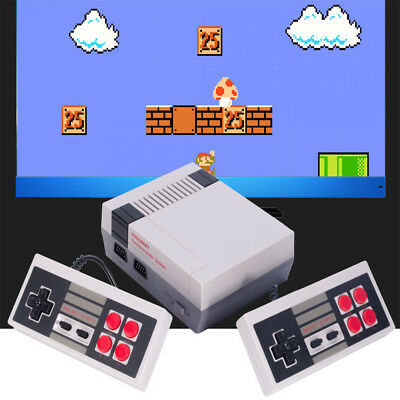 AV OUT Classic TV Video Game Console 2 Controller Built-in 600 Game For NES Mini
