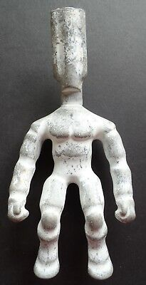Vintage Aluminum Industrial Toy Action Figure Mold - He-Man Stretch Armstrong