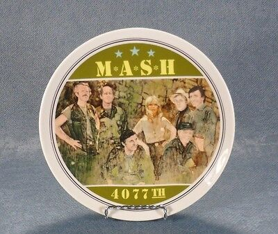 Vintage 1982 MASH 4077th The Commemorative Plate Limited Edition #40433