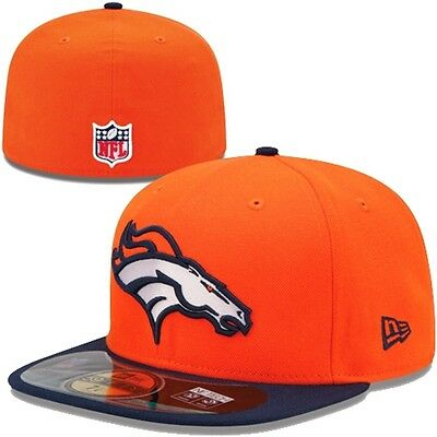 DENVER BRONCOS NFL Authentic On Field Game 59FIFTY FITTED CAP 7 1/4