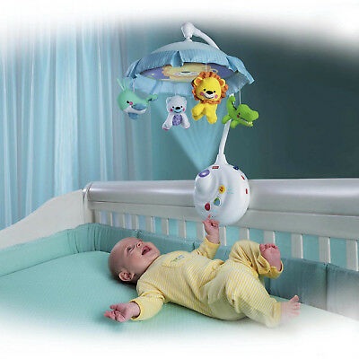Fisher-Price 2-in-1 Projection Crib Mobile, Precious Planet New Free Shipping