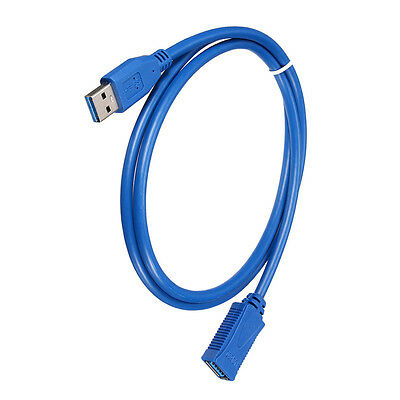 3Ft 1M USB 3.0 A Male Plug to Female Super Speed Extension Cable for PC R2B8