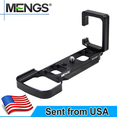 MENGS A6300 1/4'' L-Shaped Quick Release Plate With Arca-Swiss For Sony A6300