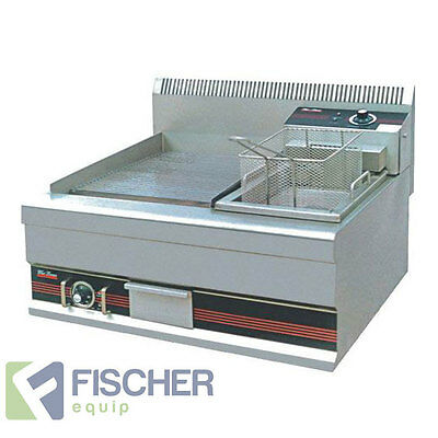 """brand New"" Commercial Benchtop Grill / Fryer Combo Unit - Electric - Benchtop"