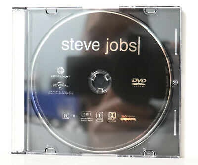 Steve Jobs (Blu-ray Disc, 2016) - NEW BLU-RAY & CASE ONLY (NOT A RENTAL)