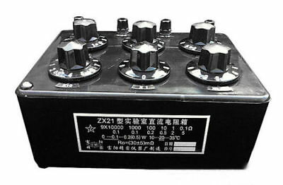 ZX21 Variable Decade Resistor Resistance Box DC Resistance Box