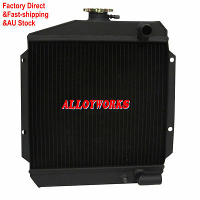 3ROW Aluminum Radiator For Yanmar 3TNE74 119621-44500
