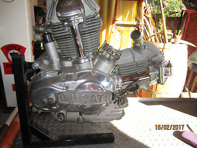 Ducati Round Case Racing Engine Complete And Ready To Go
