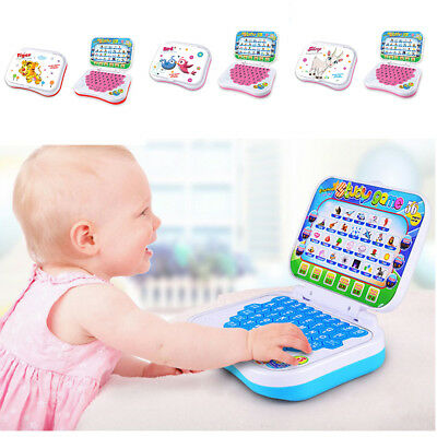 Durable Baby Kid Toddler Educational Learning Study Toy Laptop Computer Game US
