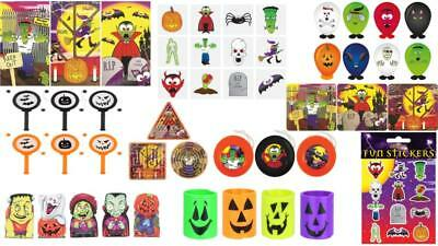 Halloween Party Bag Fillers