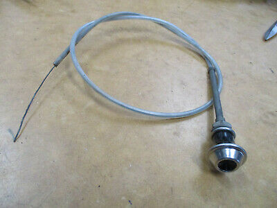 Holden Ej Eh Choke Cable Inner Outer Knob Bezel Nut Premier Special Ute Wagon