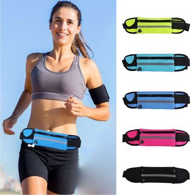Anti-theft Bumbag Reflective Phone Waist Chest Bags Sports Gym Hiking Belt Pouch