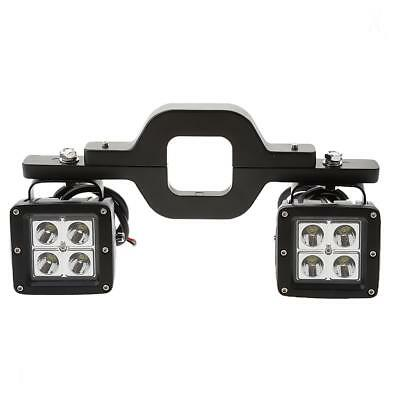 2x LED Backup Reverse Work Light with Tow Hitch Mount Bracket for Jeep Truck