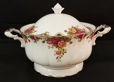 Royal Albert Old Country Roses Soup Turine