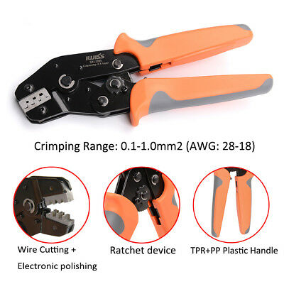 SN-28B Hand Crimping Tools Ratchet Crimping Pliers for Crimp Dupont Terminals