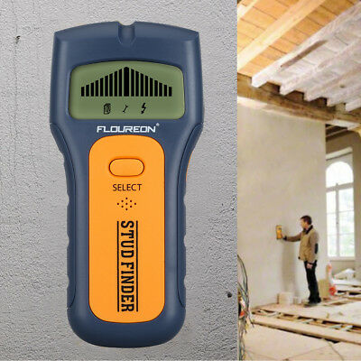 3 in 1 Detector Stud Wood Wall Finder Metal Tester AC Live Wire Cable Scanner