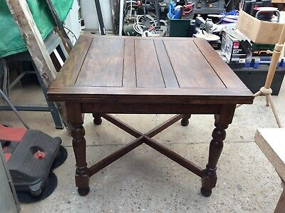 Vintage Extendable Oak Dining Table