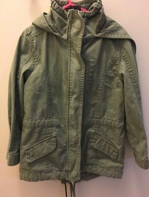 Unisex Kids cotton on khaki  jacket size 5