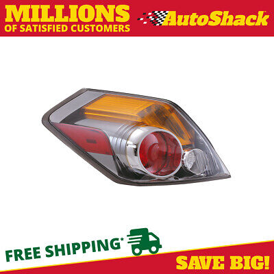 New Prime Choice Left Drivers Side Tail Light Assembly fits 07-09 Nissan Altima