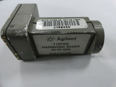 1pc Used Good HP Agilent 11970Q 33-50GHz SMA Mixer ship by DHL EMS