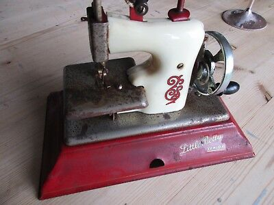 Little Betty Sewing Machine 1950`s Vintage Toy