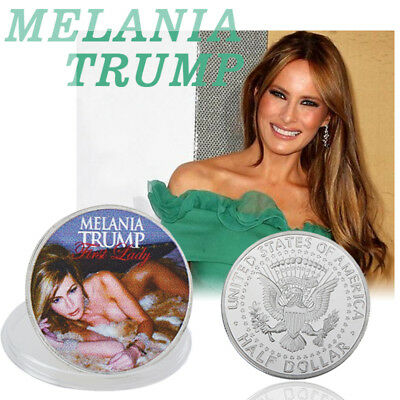 WR MELANIA TRUMP USA American President First Lady Commemorative Coin Modern New