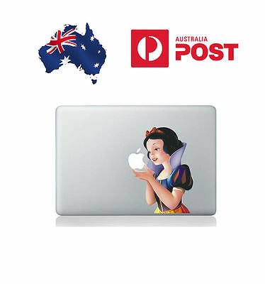 "Apple MacBook Pro & Air 13"" Vinyl Skin Decal Removable Minion, Snow White & more"