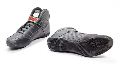 SIMPSON SAFETY Size 10 Black Red Line Driving Shoes P/N RL100K