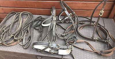 Assorted Reins & Bridle ware