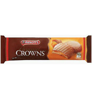 Arnotts Caramel Crowns 200g