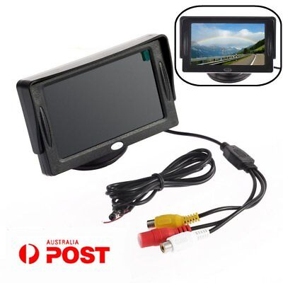 4.3 Inch LCD TFT Rearview Monitor screen for Car Backup Camera 4:3/16:9 GT