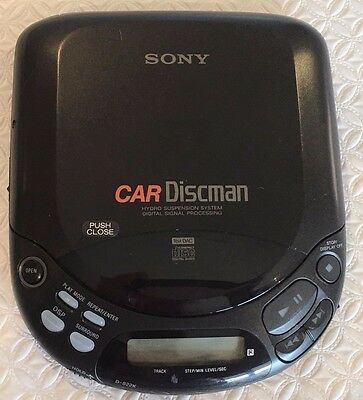 SONY D-822K Car Discman CD Compact Player in box with all accessories included