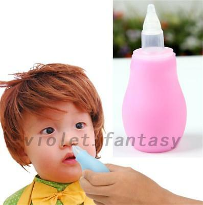 Baby Infant Newborn Nasal Vacuum Mucus Suction Aspirator Nose Cleaner Easy Clean