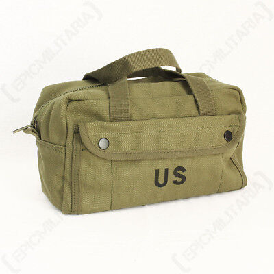 89881b7cb0bc8c Khaki US Army Tool Bag - Wash Toiletry Case Pack Military Travel Soldier  USA New