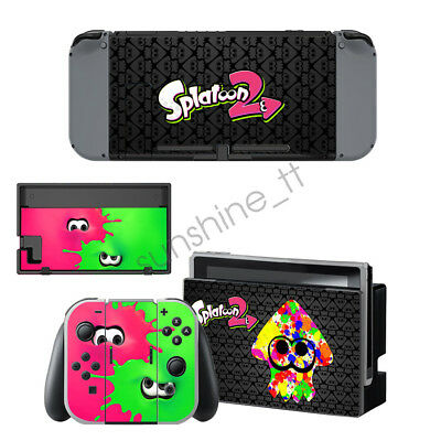 For Nintendo switch Sticker Console Controllers Decal Sticker--Splatoon 2