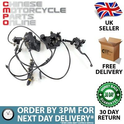 Front Brake System (Complete) for ZS125-48F-E4 (CMBBRK003)