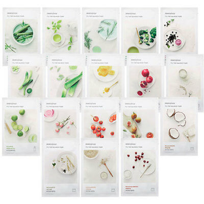 [Innisfree] My real squeeze Mask 20ml (18Types)  * 1/3/5/10 sheets