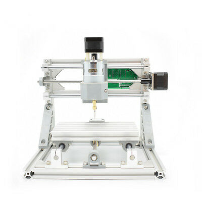 Mini Diy CNC1610 GRBL control,3Axis pcb pvb Milling machine,Wood Router Engraver